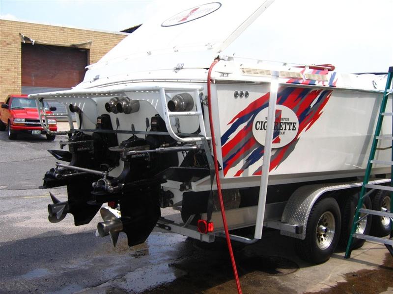 Marine Engine Repair Photos | Cigarette Boat Engine Rebuild